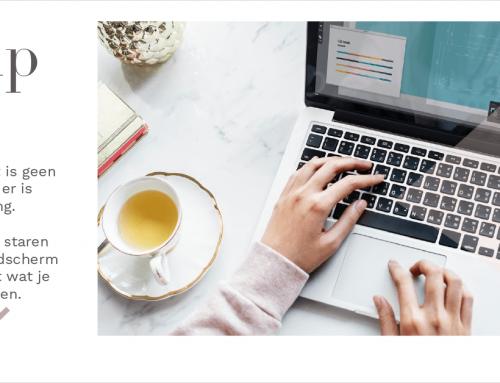 Bloggen, het is geen prioriteit en er is geen planning