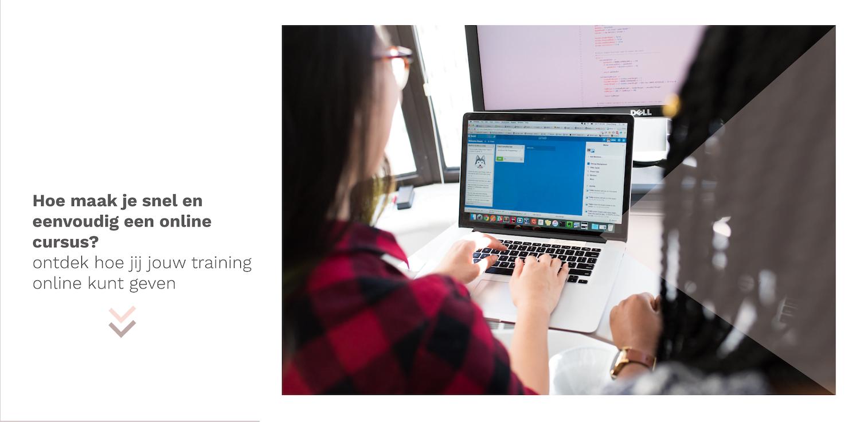 snel en eenvoudig een online cursus maken