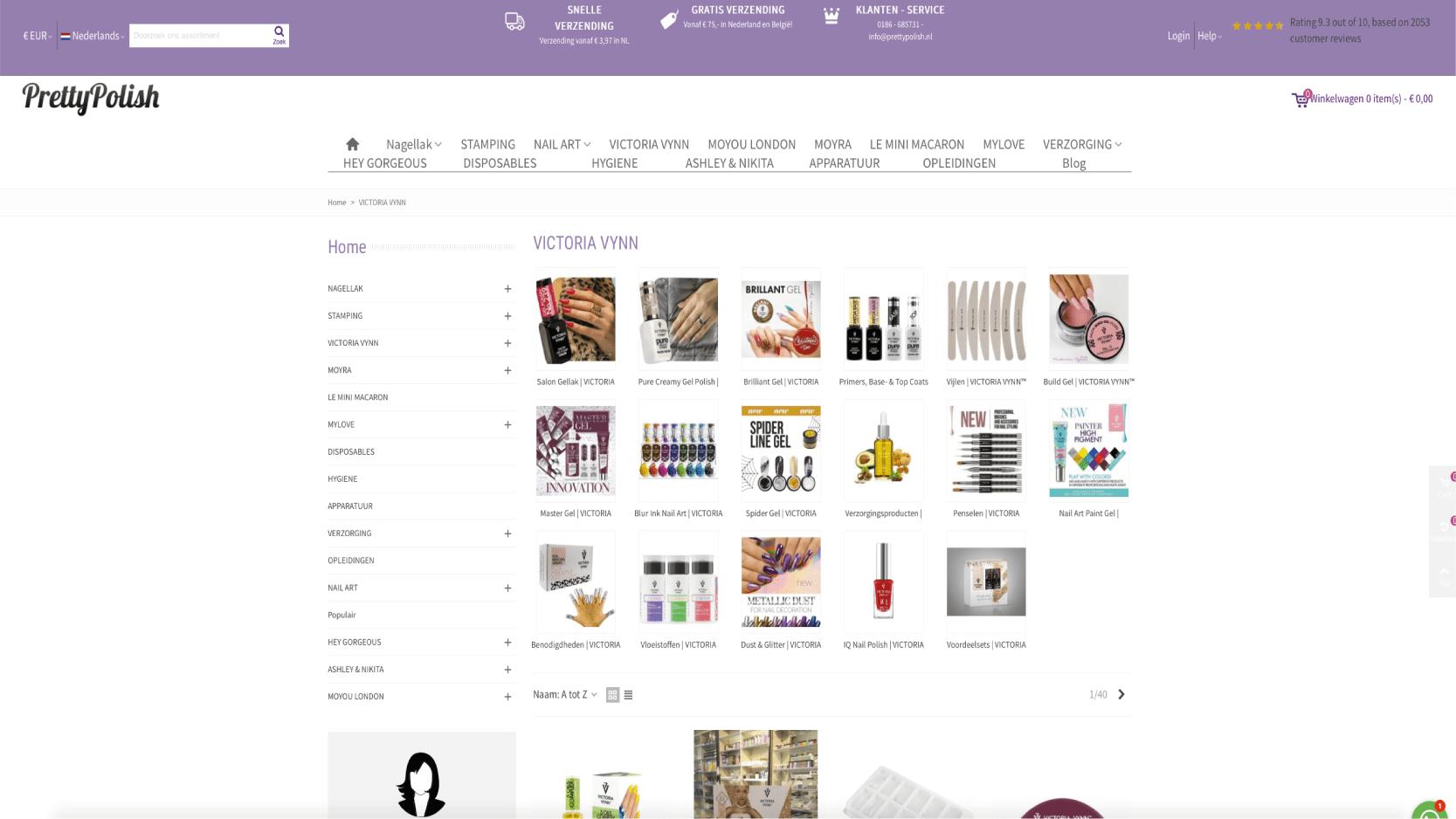 Webshop gemaakt door Grip op bedrijfsgroei