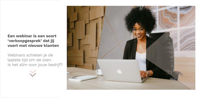 Kun je klanten krijgen door een webinar te geven?